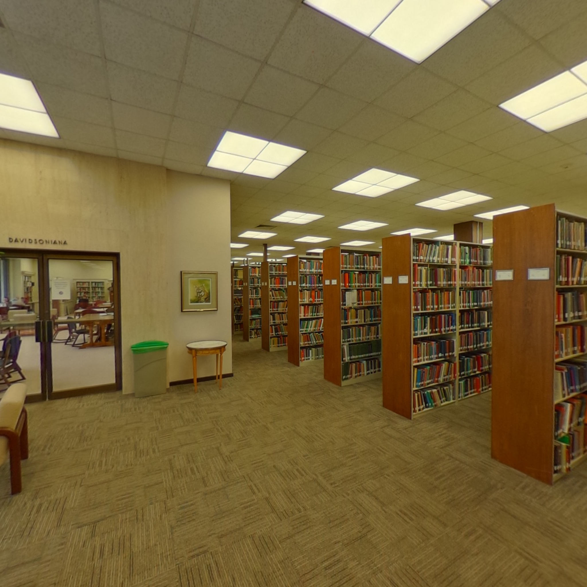 E.H. Little Library - Second Floor